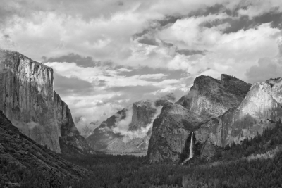 Tunnel View Storm