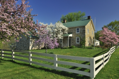 Country House In Spring