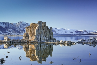 Winter Evening, Mono Lake