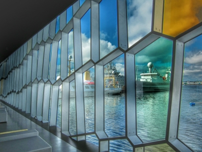 Harbor View From Harpa