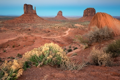 Monument Valley Dusk (161393lnd8)
