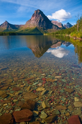 Two Medicine Lake, Glacier Np