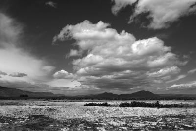 Clouds Over The Alvord Desert