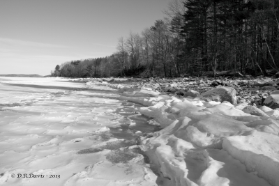 Frozen Shoreline – Quabbin Reservoir