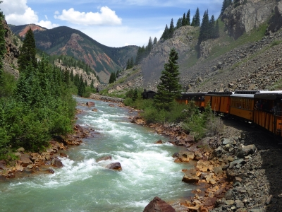 Railroading Along The Animas River (co)