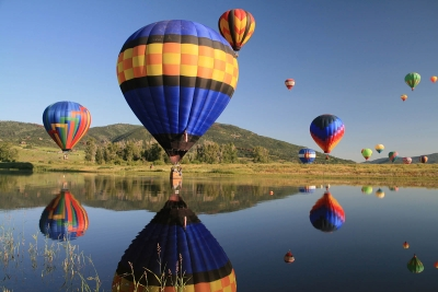 Steamboat Springs Balloon Rodeo Reflections