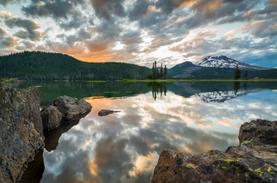 Shattered View-Sparks Lake