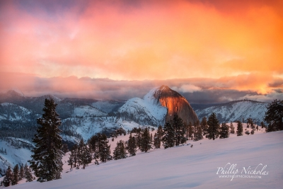 Half Dome, Sunset Haze