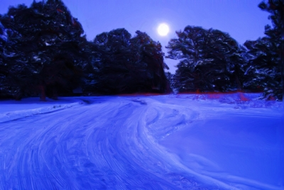 Full Moon_blue Hour
