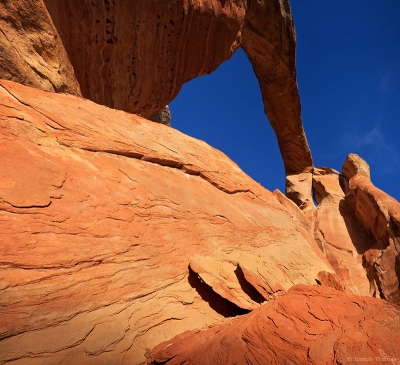 Secluded Sandstone Arch