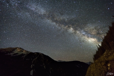 Molas Pass Milky Way