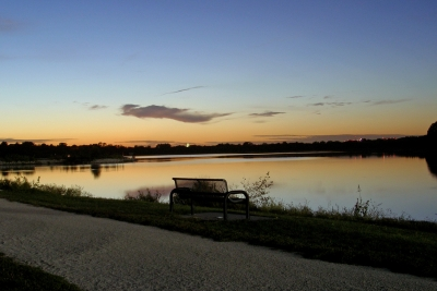 Lake Side Bench
