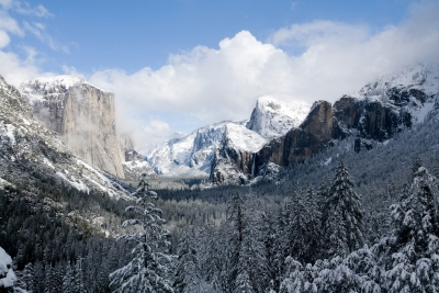 Breaking Up Of The Storm – Yosemite Winter