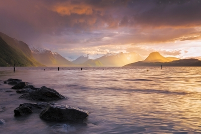 Spring Storms And Fjords