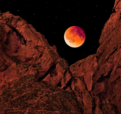 Blood Moon, Garden Of The Gods