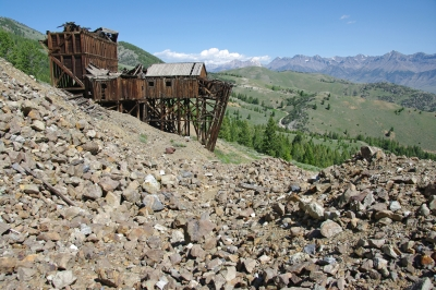Tram Headhouse, White Knob Mountain, Idaho