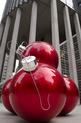 San Francisco Big Red Ornaments