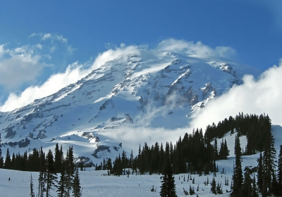 Mt. Rainier-early Spring