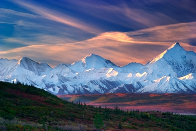 Sunrise Over Mt. Denali