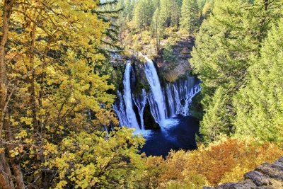 Autumn At Burney Falls