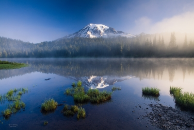 Mount Rainier Reflected