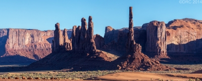 Monument Valley December Afternoon
