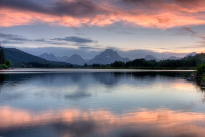 Oxbow Bend Sunset