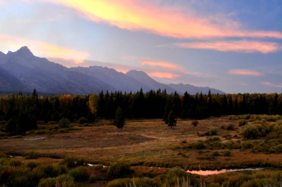Grand Tetons Evening Light
