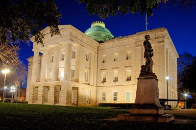 Nc State Capital West Portico