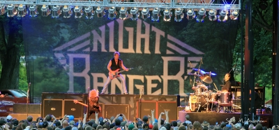 Night Ranger Rocks The Spiedie And Balloon Fest In Binghamton, New York