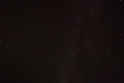 Attemp At Capturing A Perseid Meteor