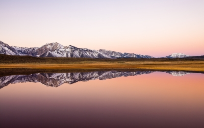 Alkali Lake Reflection