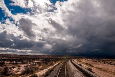 Tracks Into The Storm