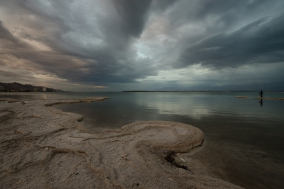 Storm Above The Dead Sea