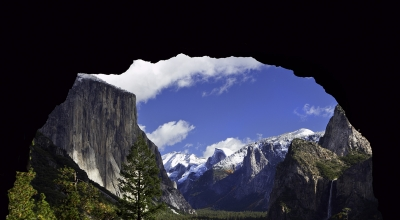 Yosemite Tunnel View, Literally