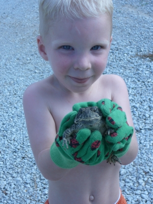 Boy And Toad
