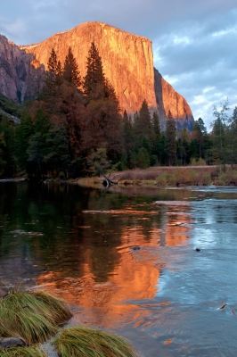 El Capitan Autumn Sunset Glow