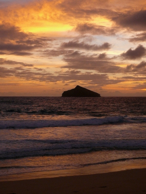 Sunrise At Blinky Beach, Lord Howe Island