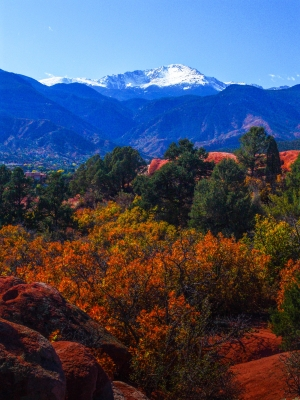 Autumn Snow On Pikes Peak