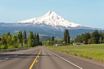 Road To Mt. Hood