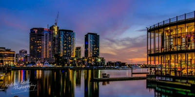 A Look Across The Yarra River