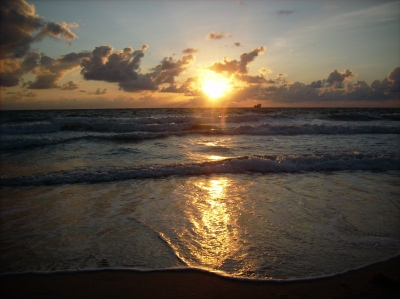 Sunrise On Ft. Lauderdale Beach
