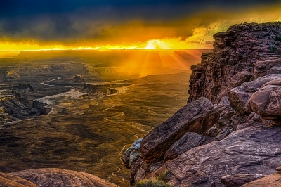 Sunset At The Green River #2