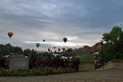 Balloons Over Lewiston