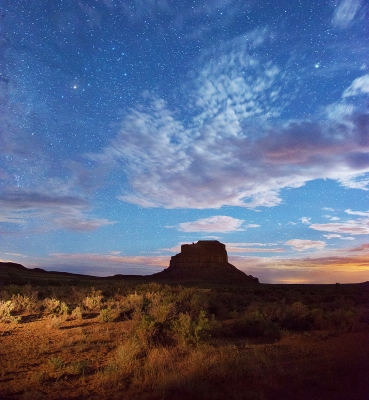 Moonlight Over Fajada Butte.