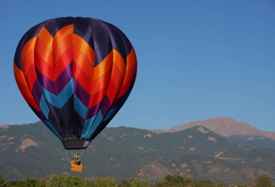 Ballooning Over Pikes Peak