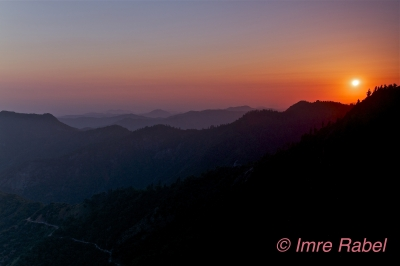 Sunset From Moro Rock