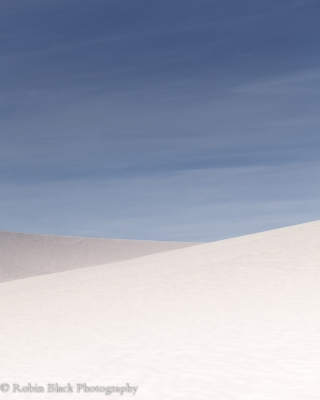 Minimalist Dunes (white Sands National Monument)