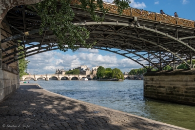 Bridge Over The Seine River
