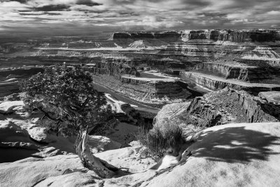 Dead Horse Point Winter